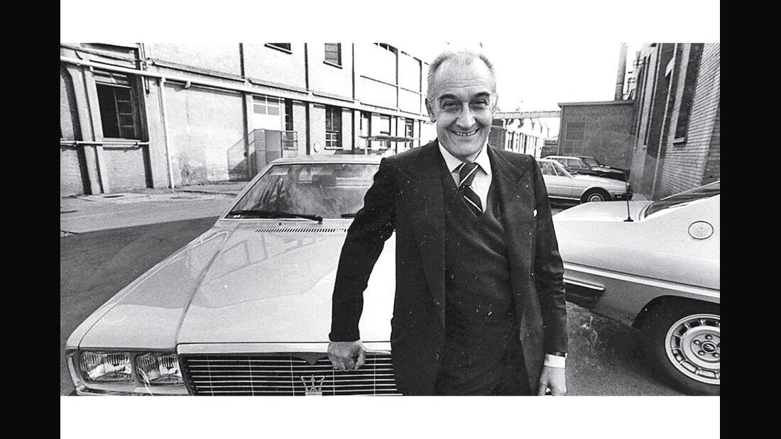 Alejandro de Tomaso, Maserati-Chef bis zur Fiat-Übernahme (1993).