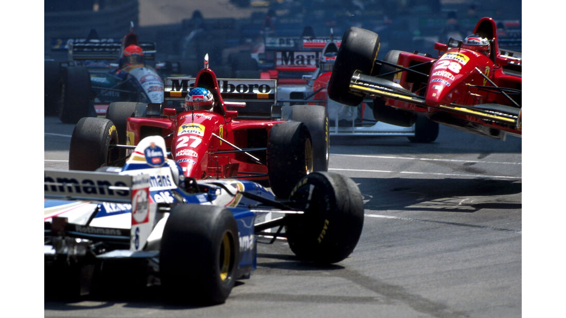 Alesi vs. Berger - GP Monaco 1995