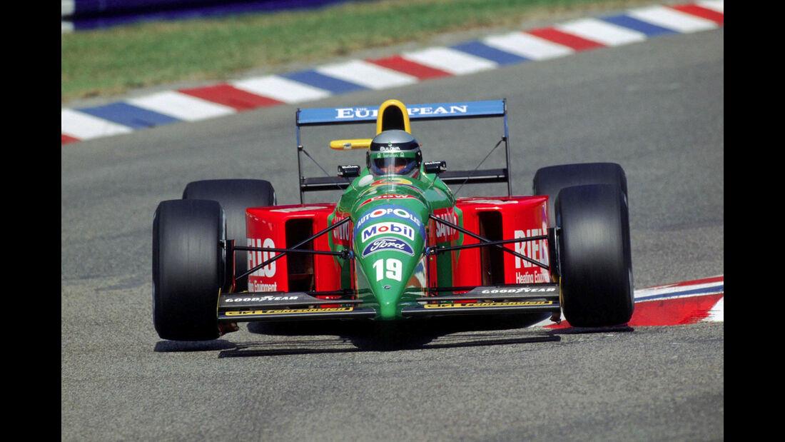 Alessandro Nannini - Benetton B190 - GP Deutschland 1990