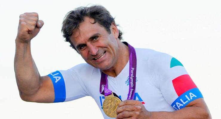 Alessandro Zanardi Paralympics 2012