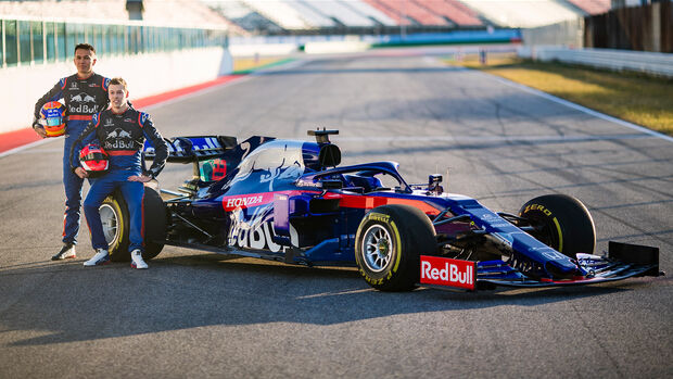 Alex Albon & Daniil Kvyat - Toro Rosso STR14 - Shakedown - Misano - Formel 1 - 2019
