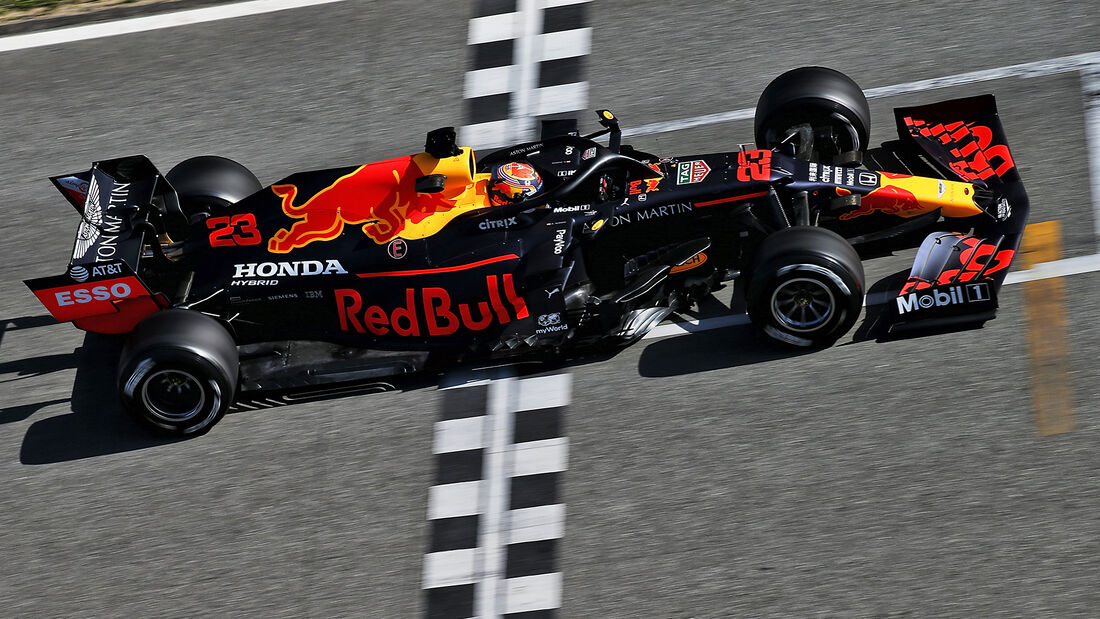 Alex Albon - F1-Test - Barcelona - 27. Februar 2020