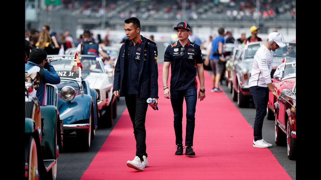 Alex Albon & Max Verstappen - GP Mexiko 2019