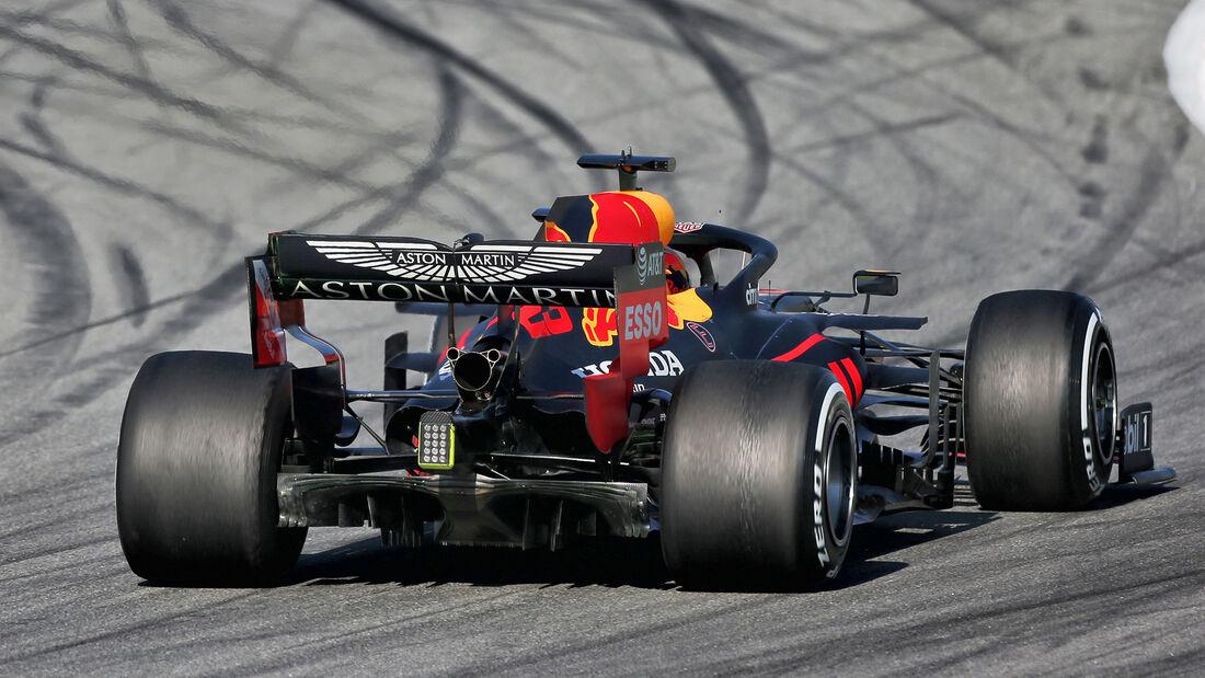 Alex Albon - Red Bull - F1-Test - Barcelona - 20. Februar 2020