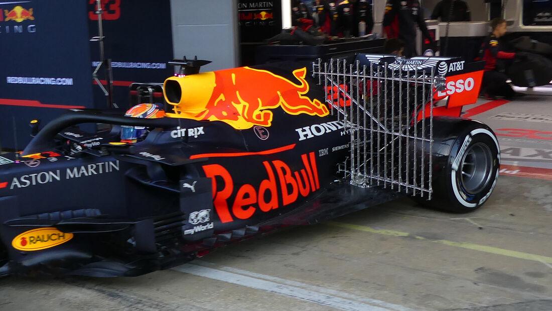 Alex Albon - Red Bull - F1-Test - Barcelona - 28. Februar 2020