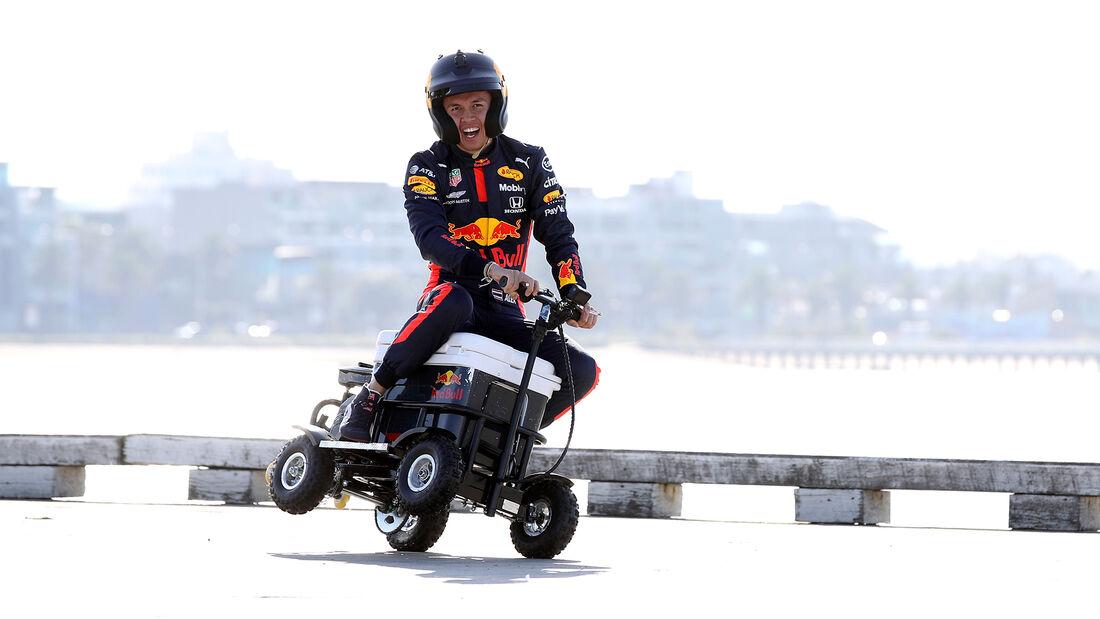 Alex Albon - Red Bull - Formel 1 - GP Australien - Melbourne - 11. März 2020