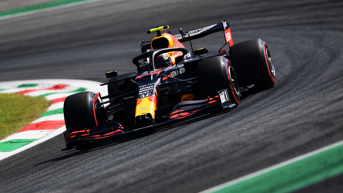 Alex Albon - Red Bull - Formel 1 - GP Italien - Monza - 4. September 2020