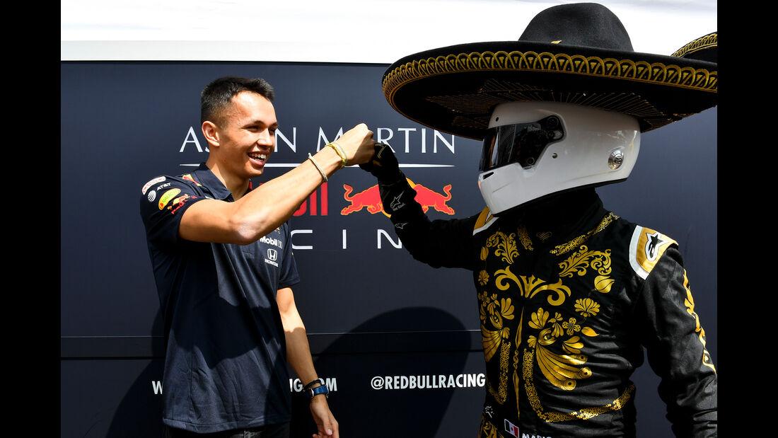 Alex Albon - Red Bull - Formel 1 - GP Mexiko - 24. Oktober 2019