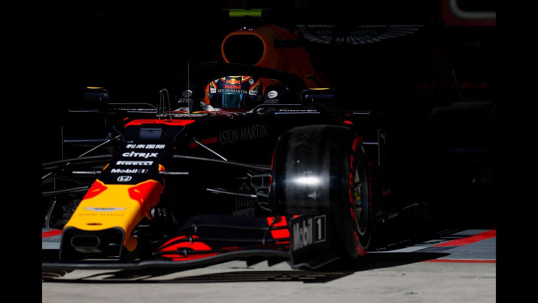 Alex Albon - Red Bull  - Formel 1 - GP USA - Austin - 2. November 2019