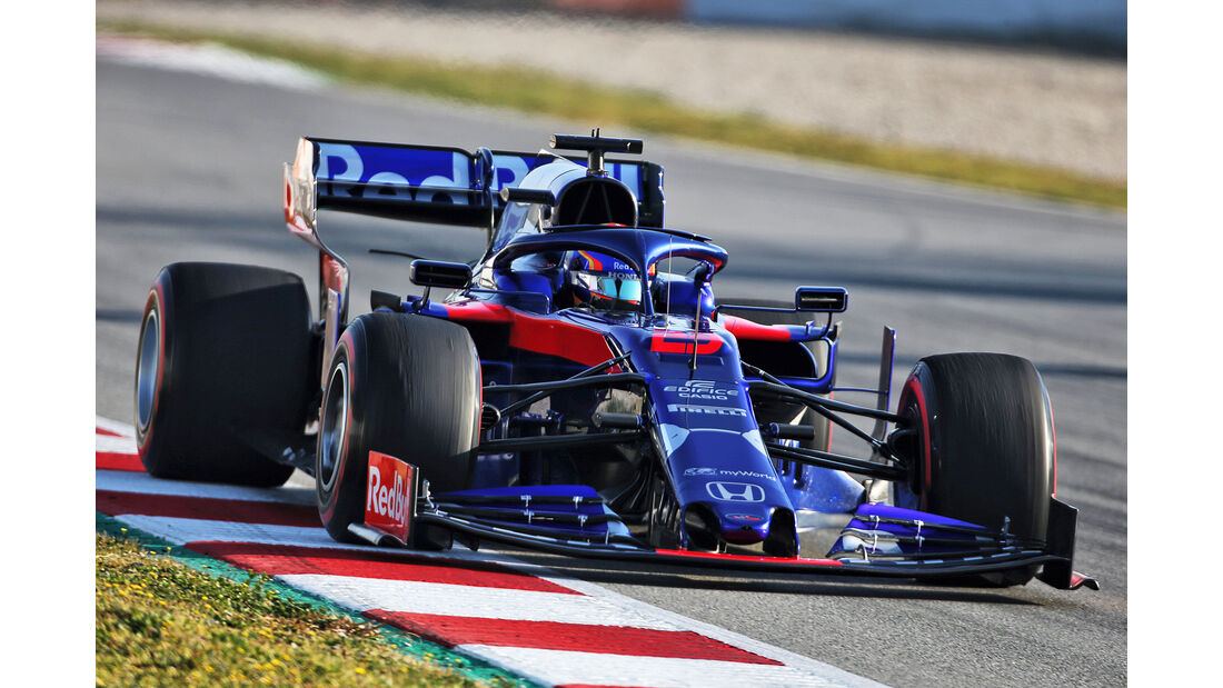 Alex Albon - Toro Rosso - Barcelona - F1-Test - 27. Februar 2019