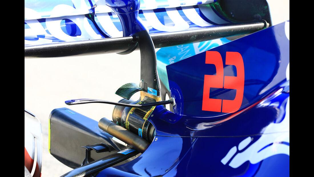 Alex Albon - Toro Rosso - Barcelona - F1-Test - 28. Februar 2019