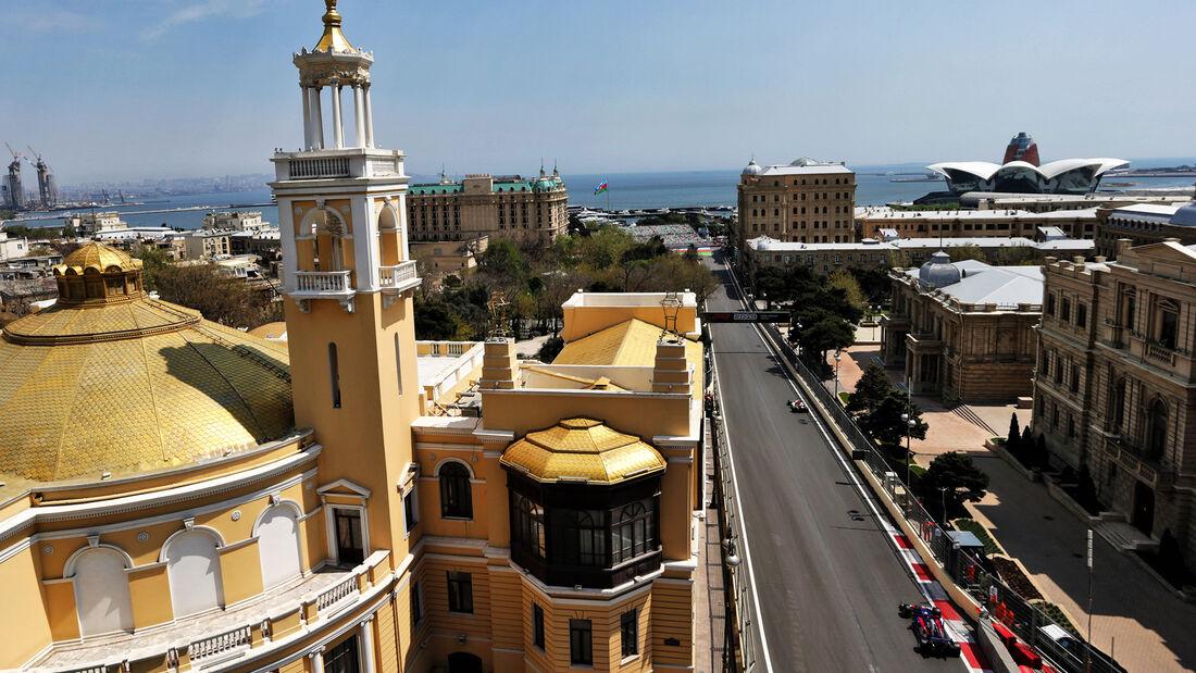Alex Albon - Toro Rosso - Formel 1 - GP Aserbaidschan - Baku - 26. April 2019