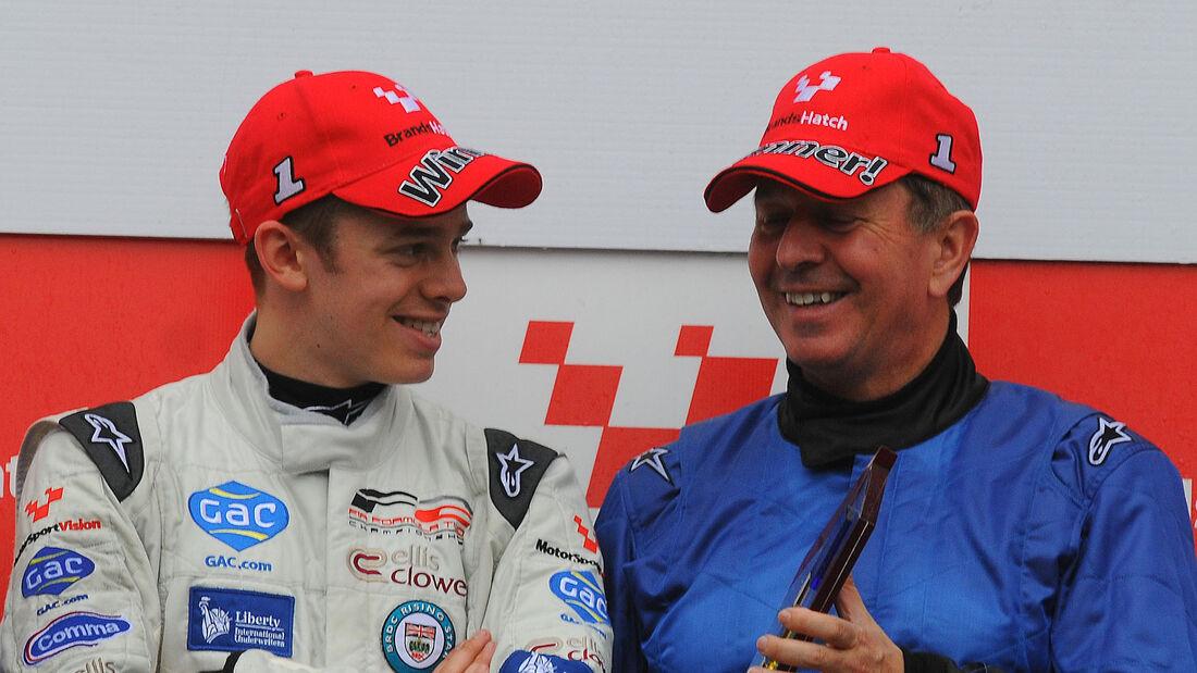 Alex Brundle (GBR), Martin Brundle (GBR)