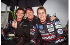 Alex Brundle (GBR), Martin Brundle (GBR), Lucas Ordonez (Esp), 24h-Rennen Le Mans 2012