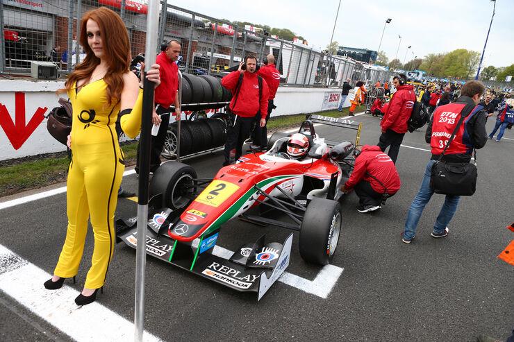 Alex Lynn - Formel 3 EM - Brands Hatch - 2013