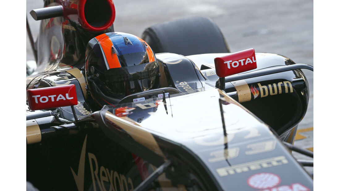 Alex Lynn - Lotus - Formel 1 - Test - Abu Dhabi - 26. November 2014