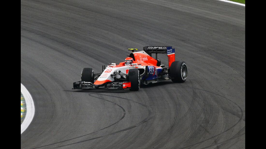 Alex Rossi - Formel 1 - GP Brasilien 2015