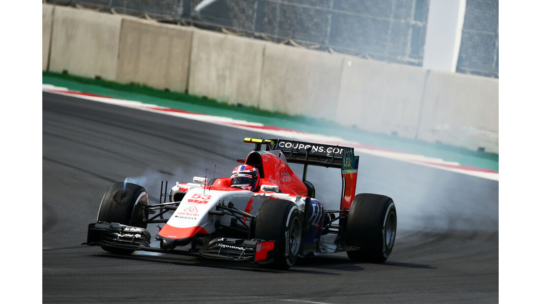 Alex Rossi - GP Mexiko 2015