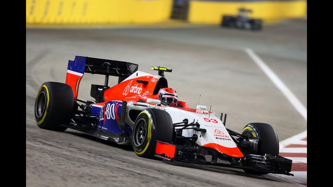 Alex Rossi - GP Singapur 2015