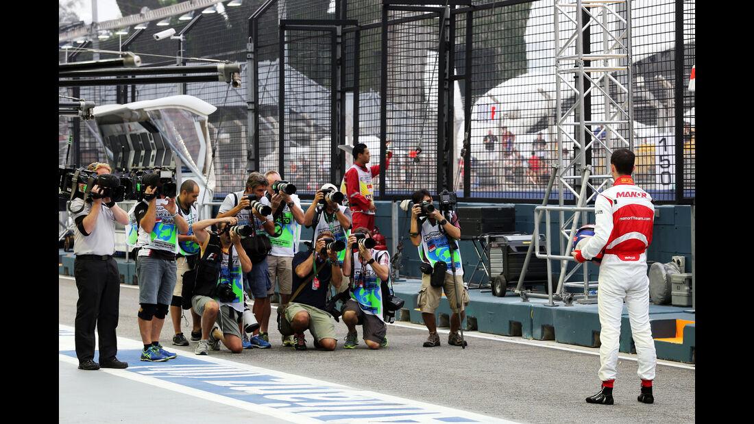 Alex Rossi - Manor - Formel 1 - GP Singapur - 18. September 2015