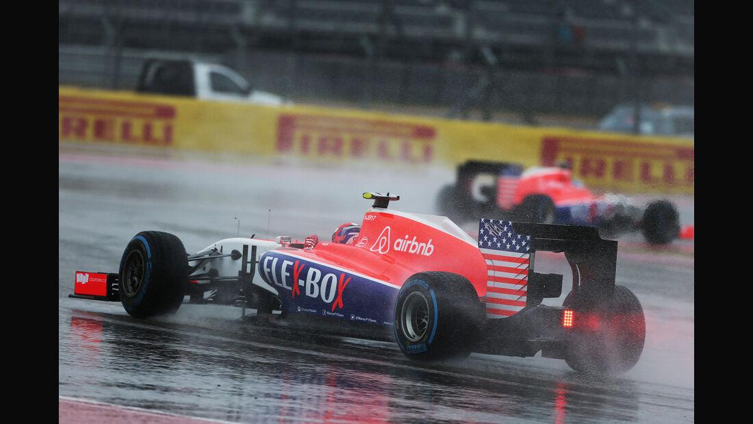 Alex Rossi - Manor Marussia - Formel 1 - GP USA - Austin - Formel 1 - 24. Oktober 2015