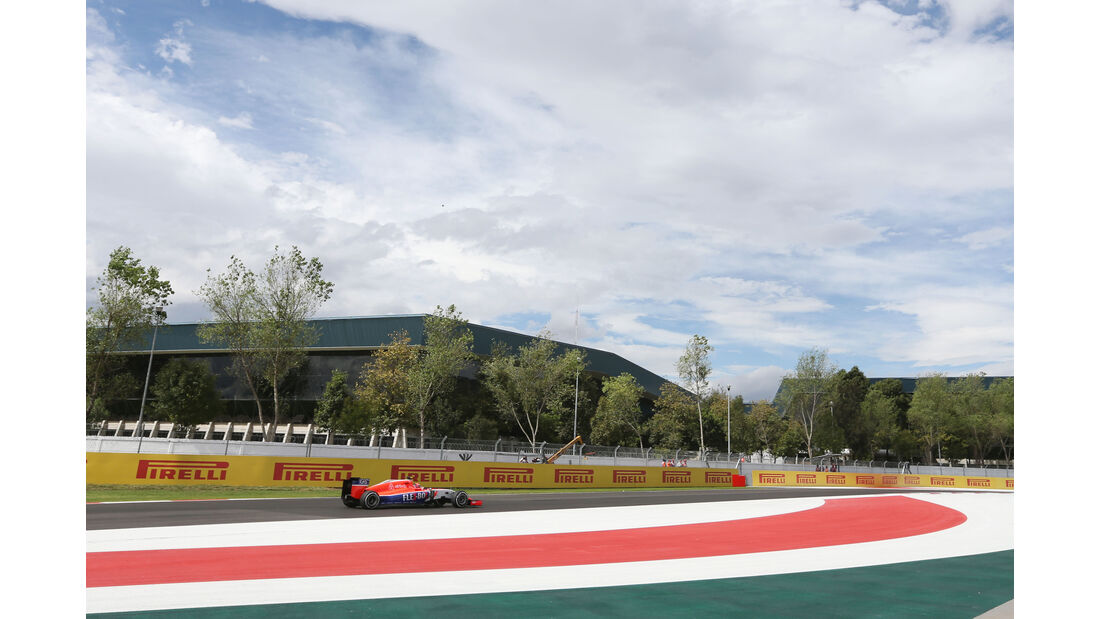 Alex Rosso - Manor Marussia - Formel 1 - GP Mexiko - 30. Oktober 2015