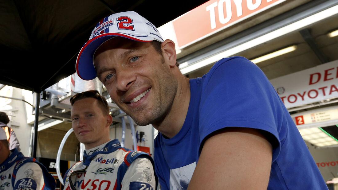 Alex Wurz - 24 Le Mans 2015