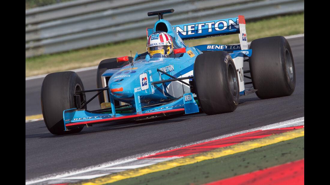Alex Wurz - Benetton B198 - GP-Legenden - GP Österreich 2014