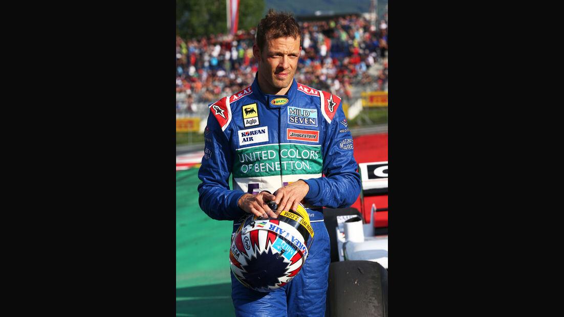 Alex Wurz - Benetton B198 - GP Österreich 2014 - Legenden