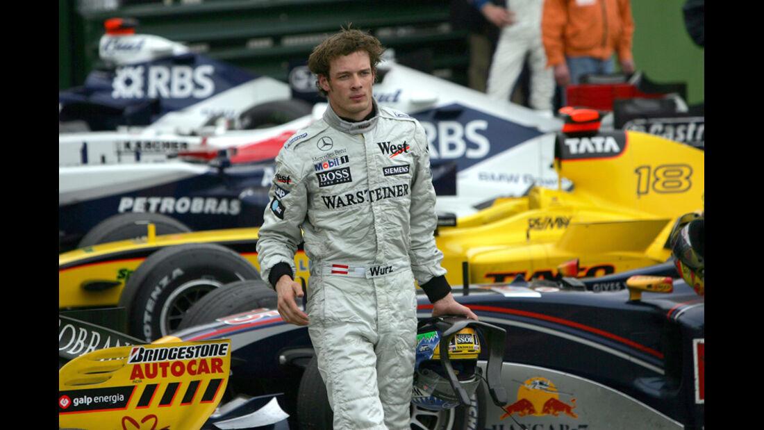 Alex Wurz McLaren 2005