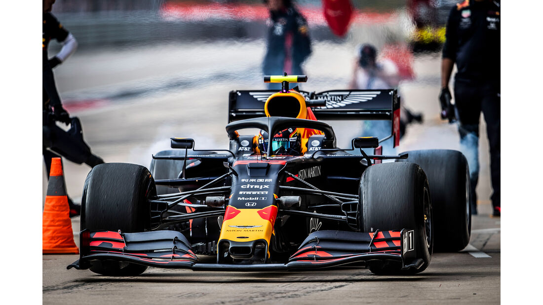 Alexander Albon  - Formel 1 - GP USA 2019