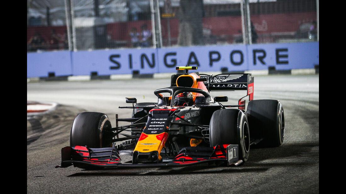 Alexander Albon - GP Singapur 2019