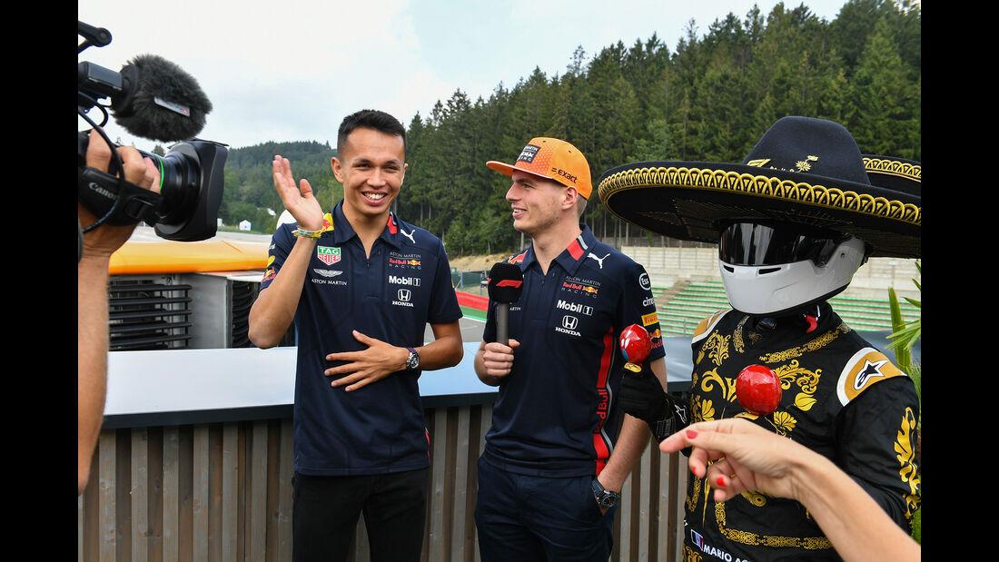 Alexander Albon - Max Verstappen - Red Bull - GP Belgien - Spa-Francorchamps - Formel 1 - Donnerstag - 29.8.2019