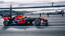 Alexander Albon - Pierre Gasly - Red Bull - Showrun - Istanbul 2020