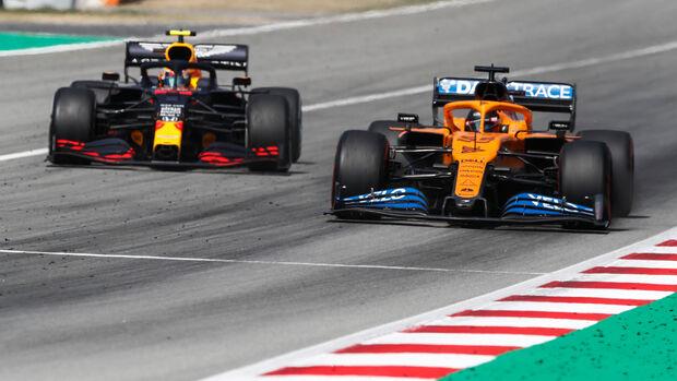 Alexander Albon - Red Bull - Carlos Sainz - McLaren - GP Spanien 2020 - Barcelona