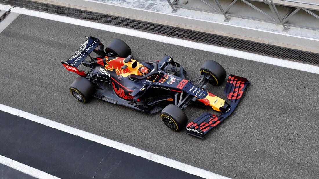 Alexander Albon - Red Bull - F1-Test - Abu Dhabi - 4. Dezember 2019