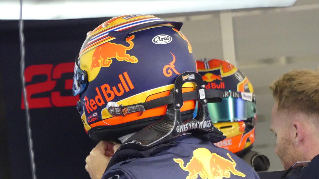 Alexander Albon - Red Bull - F1-Test - Barcelona - 19. Februar 2020