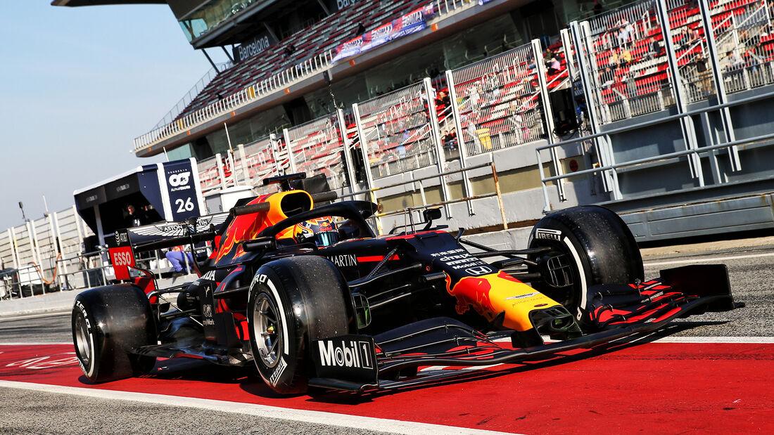 Alexander Albon - Red Bull - F1-Test - Barcelona - 21. Februar 2020