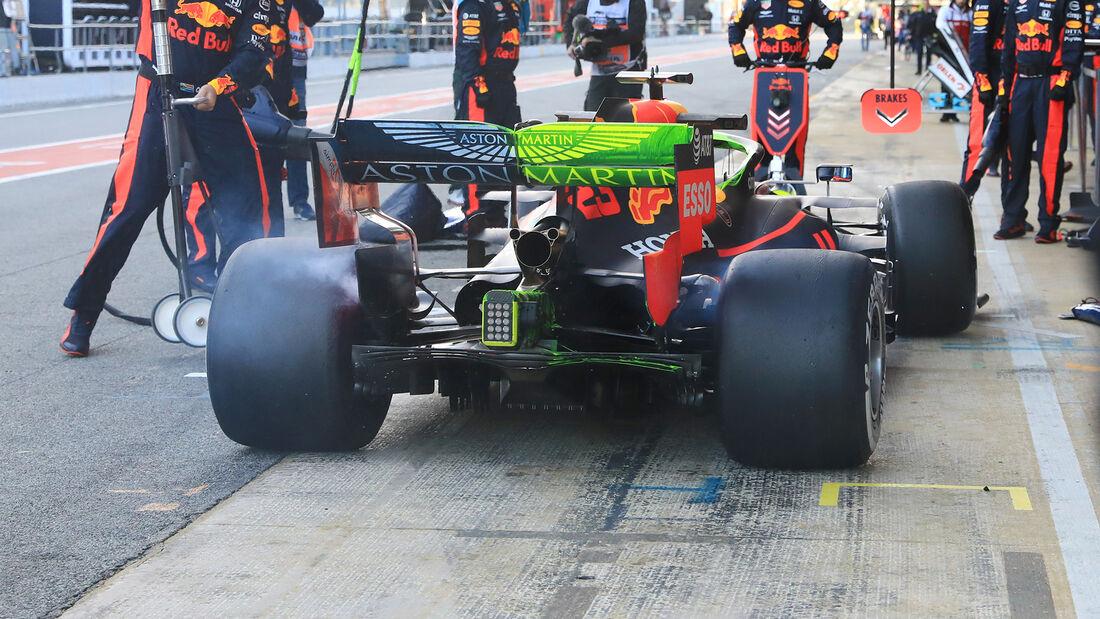 Alexander Albon - Red Bull - F1-Test - Barcelona - 26. Februar 2020