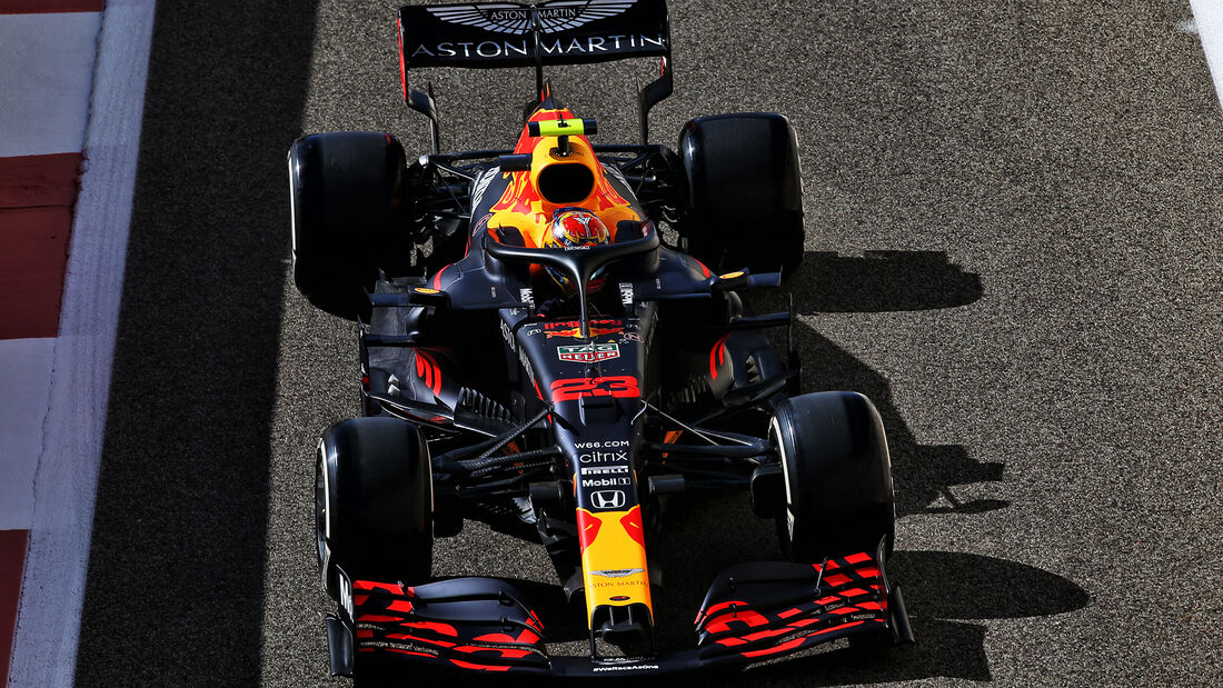 Alexander Albon - Red Bull - Formel 1 - GP Abu Dhabi - Freitag - 11.12.2020