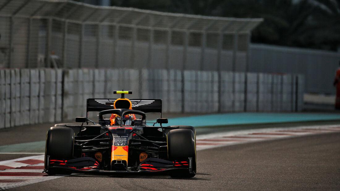 Alexander Albon - Red Bull - Formel 1 - GP Abu Dhabi - Samstag - 12.12.2020