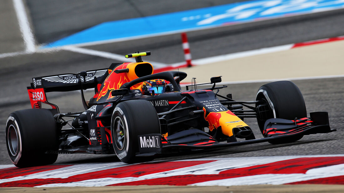 Alexander Albon - Red Bull - Formel 1 - GP Bahrain- Sakhir - Freitag - 27.11.2020