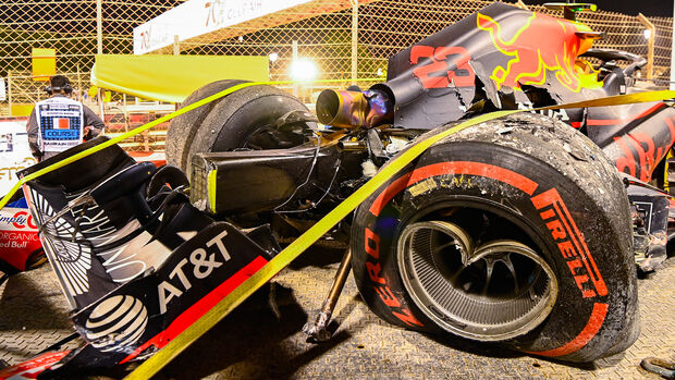 Alexander Albon - Red Bull - Formel 1 - GP Bahrain - Sakhir - Freitag - 27.11.2020
