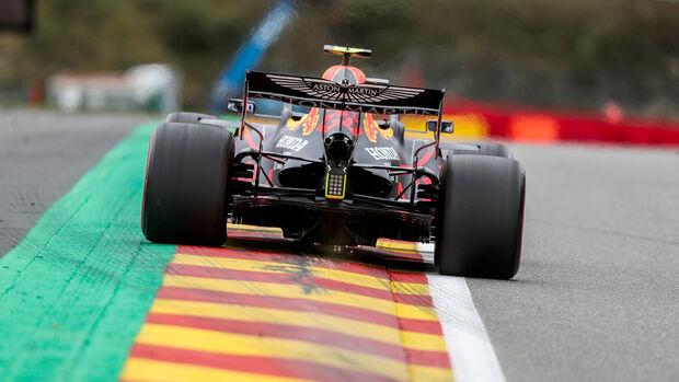Alexander Albon - Red Bull - Formel 1 - GP Belgien - Spa-Francorchamps - 28. August 2020