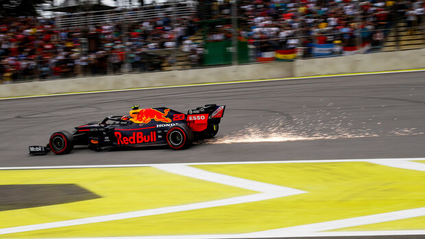 Alexander Albon - Red Bull - Formel 1 - GP Brasilien - Sao Paulo - 16. November 2019