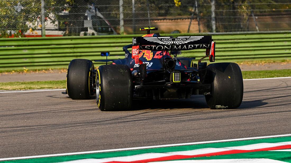 Alexander Albon - Red Bull - Formel 1 - GP Emilia-Romagna - Imola - Samstag - 31.10.2020