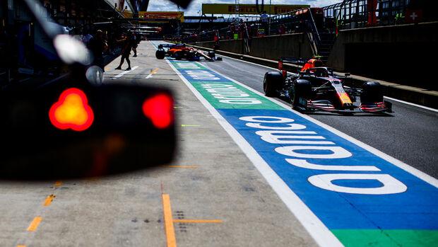 Alexander Albon - Red Bull - Formel 1 - GP England - Silverstone - 1. August 2020