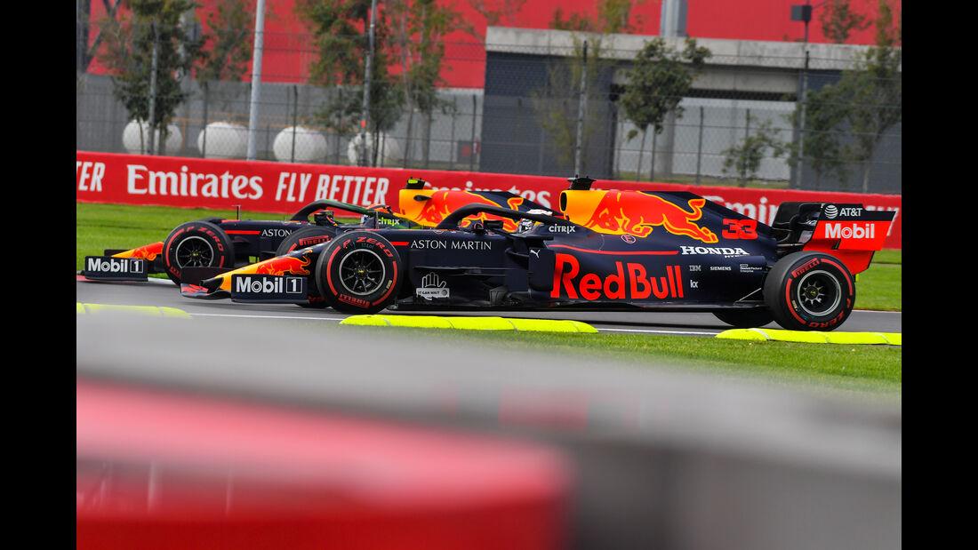 Alexander Albon - Red Bull - Formel 1 - GP Mexiko - 25. Oktober 2019