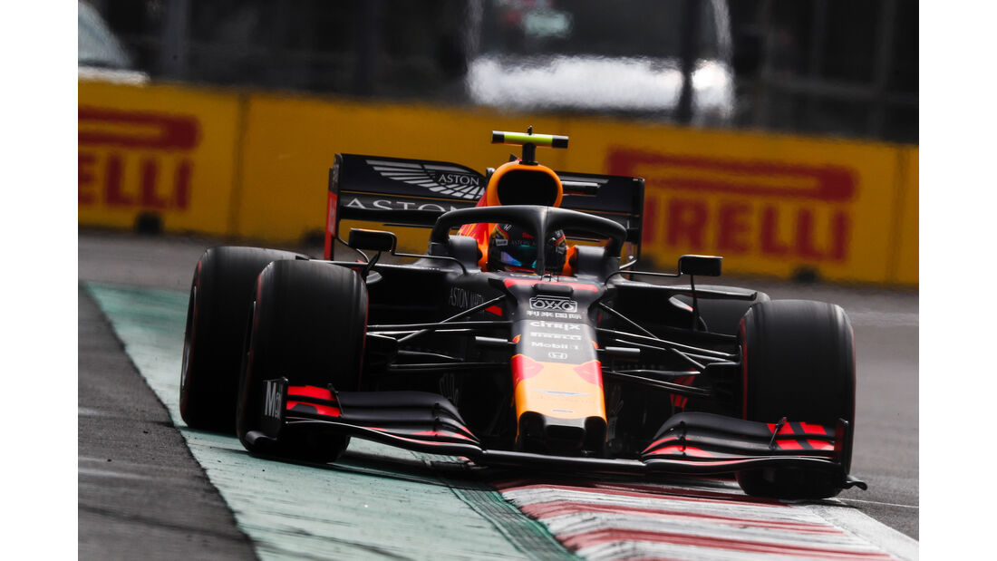 Alexander Albon - Red Bull - Formel 1 - GP Mexiko - 26. Oktober 2019