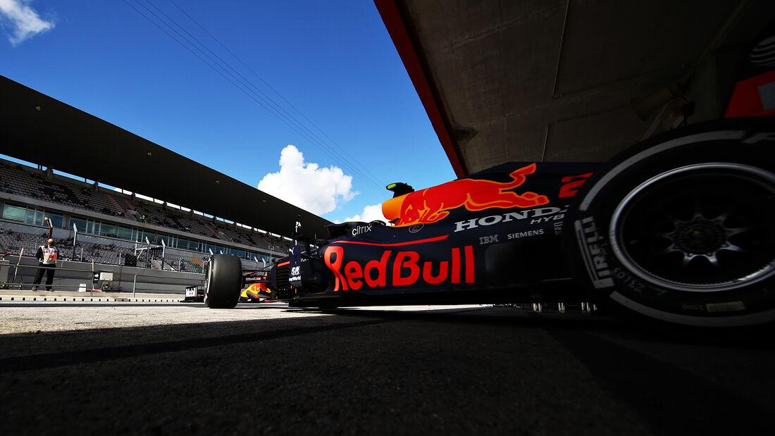 Alexander Albon - Red Bull - Formel 1 - GP Portugal - Portimao - 23. Oktober 2020